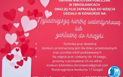 Konkurs Walentynkowy!