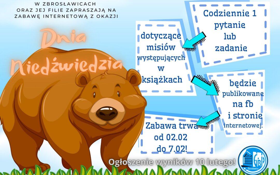 Kokurs z okazji Dnia Niedźwiedzia