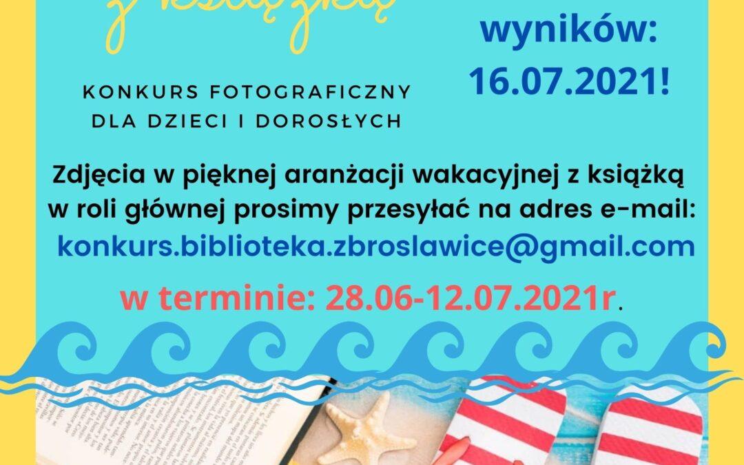 Gminna Biblioteka Publiczna w Zbrosławicach oraz jej Filie zapraszają do udziału w konkursie.