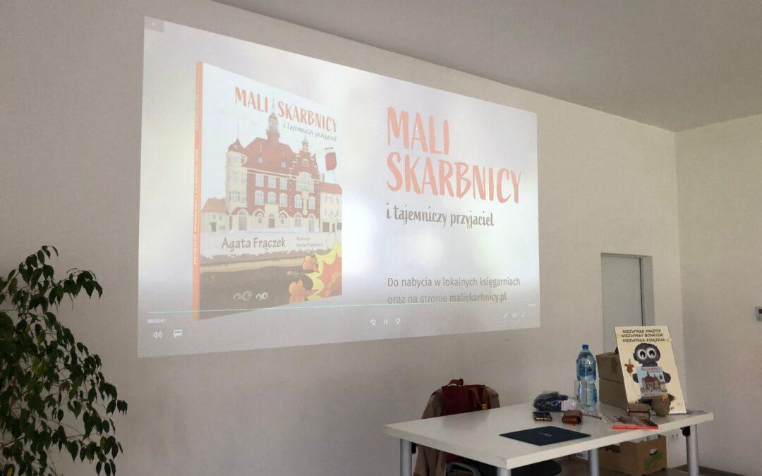 Spotkanie autorskie w Zbrosławicach i Ziemięcicach